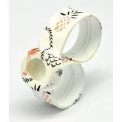 Bracelet de montre Mini WaterPrint Flamingo