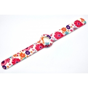 Bracelet de montre Mini WaterPrint Pink Fruit