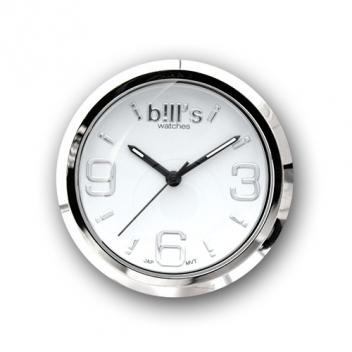 - 3700982214743 - Bill's watch - Montre Classic Bracelet Prune & cadran blanc - 2