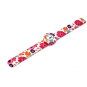 Montre Mini Bracelet Pink Fruit & cadran blanc