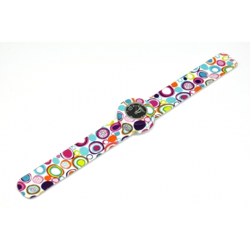- 3700982214569 - Bill's watch - Montre Mini Bracelet 70's Candy & cadran noir