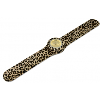 - 3700982215290 - Bill's watch - Montre Classic Bracelet Leopard & cadran Gold Sun.
