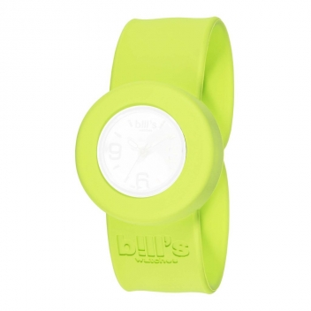 SBMB14-0 - 3700982253476 - Bill's watches - Bracelet de montre Mini Uni Vert Pomme