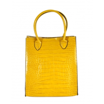 608 jaune -  - Collection CMLPB - Petit sac vegan Jaune - 3