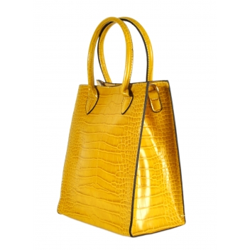 608 jaune -  - Collection CMLPB - Petit sac vegan Jaune