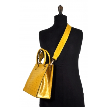 608 jaune -  - Collection CMLPB - Petit sac vegan Jaune - 2