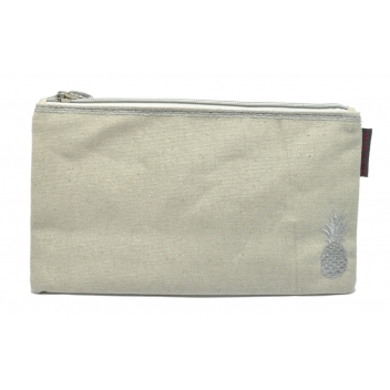 60350 ananas - 3700982223448 - Collection CMLPB - Pochette Beige ananas - 3