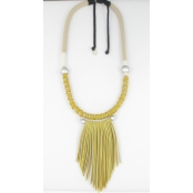 Collier moutarde