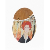 broche d'inspiration modigliani