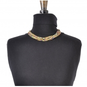 Collier court 10 rang Multicolore