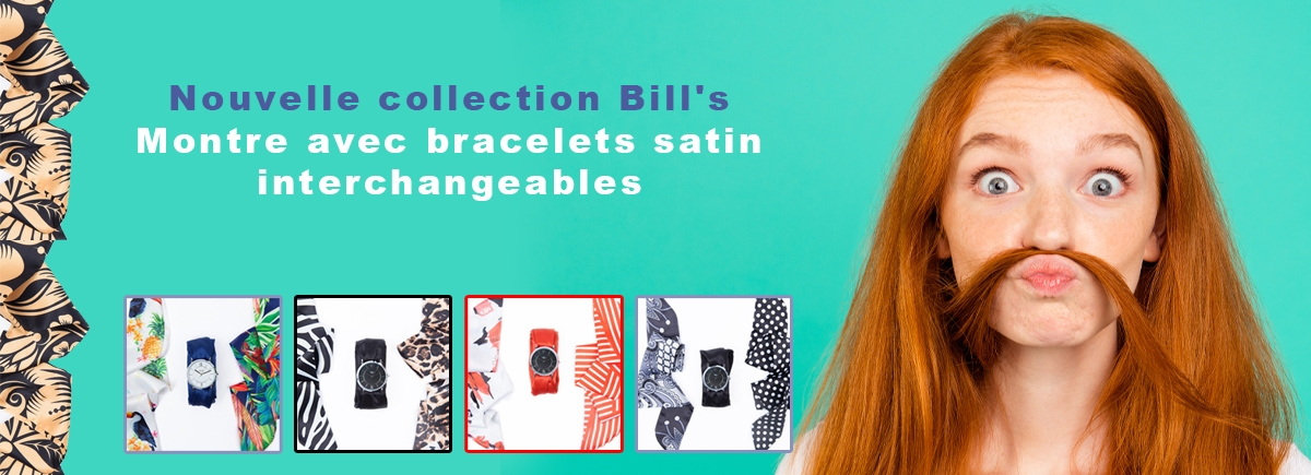 Montre silicone Bill's watches