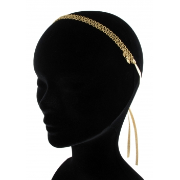 HB04FW15 - 3700982204416 - Les Dissonances - Collier & headband Folk Or & métal doré à l'or fin - France