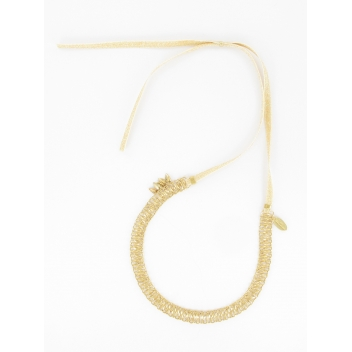 HB04FW15 - 3700982204416 - Les Dissonances - Collier & headband Folk Or & métal doré à l'or fin - France - 2