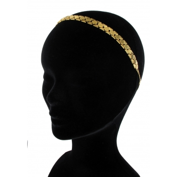 HB01FW15 - 3700982204454 - Les Dissonances - Gypsy: headband chaine Or et métal doré à l'or fin - France