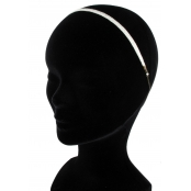 Charmante : headband ruban plat
