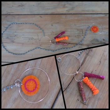 Mimi saut 2 - 3700982224100 - Piti - Collier sautoir Mimi orange - France - 2