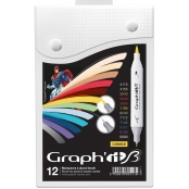 Set de 12 Marqueurs Graph'it Brush Comics