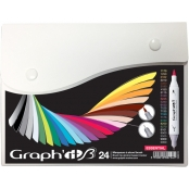 Set de 24 Marqueurs Graph'it Brush Essential