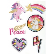 Patch thermocollant Licorne 6 pièces