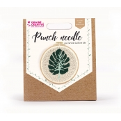 Kit Punch Needle Feuille Ø 20 cm