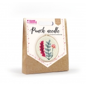 Kit Punch Needle Vegetal Ø 20 cm
