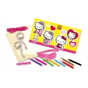 Kit Plastique magique Porte clé Hello Kitty